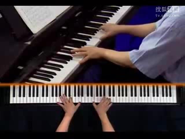 钢琴基础教程 卞萌 钢琴基础教程2北风吹