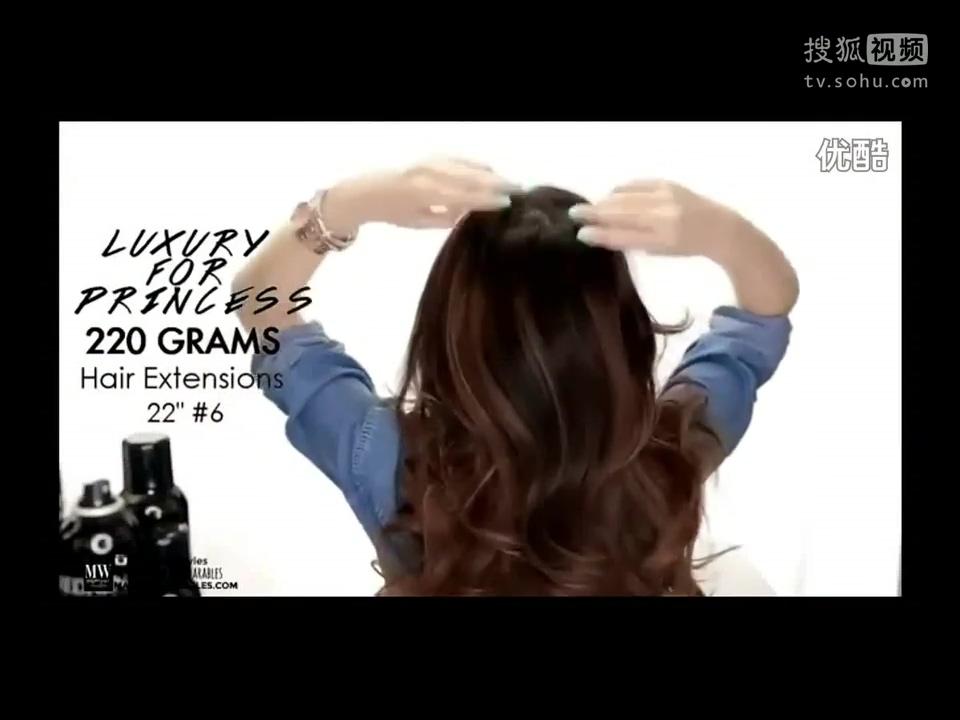 仙气烫发超视频头发的编发小树图片