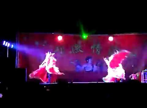 最古老庙会歌舞团表演 那几年农村庙会歌舞团 庙会歌舞团全视频直播