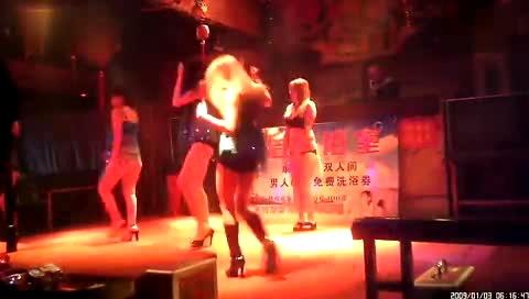 歌舞团表演