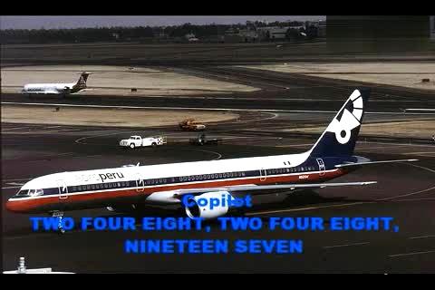 秘鲁航空603号班机空难cvr黑匣子录音