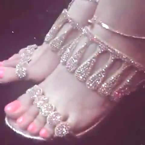 美脚高跟鞋美女热舞