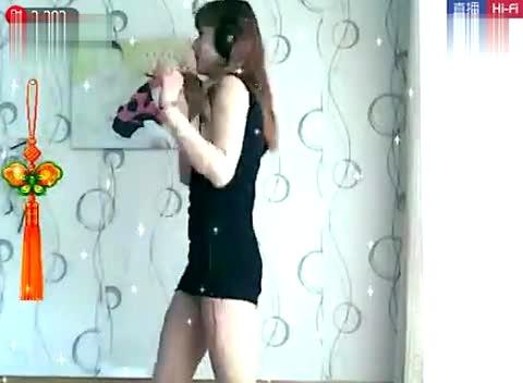 六间房美女几世情缘美女超短肉丝包臀裙诱惑热舞