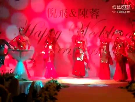 年年有余 舞蹈背景 海底吉庆 有余led动态背景素材 中国古典民族 舞蹈