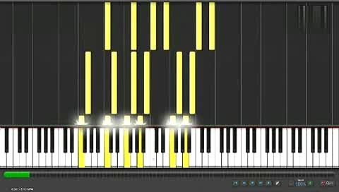 卡农 钢琴演奏