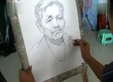 03默写 素描头像2 17173 02:24彩色铅笔画艾玛沃特森逼真 素描头像-素