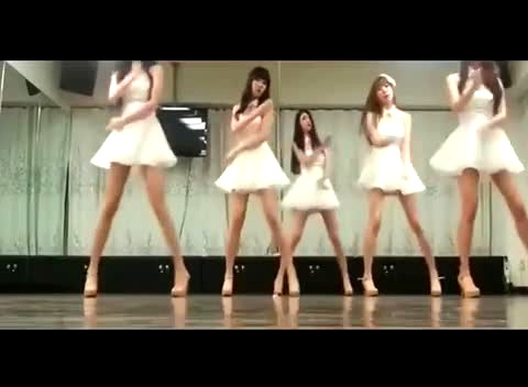 丸子控舞蹈教学视频 少女时代