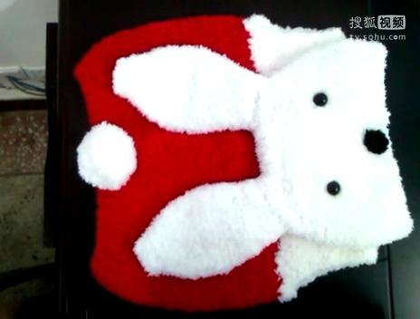 【娟娟儿编织屋】宝宝绒绒线马甲编织教程