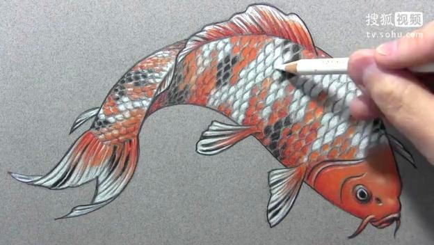 彩铅手绘风景画-360视频搜索