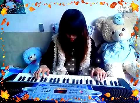 吴淑如电子琴演奏女儿情图片