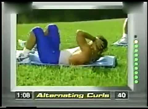 八分钟腹肌锻炼 实战班