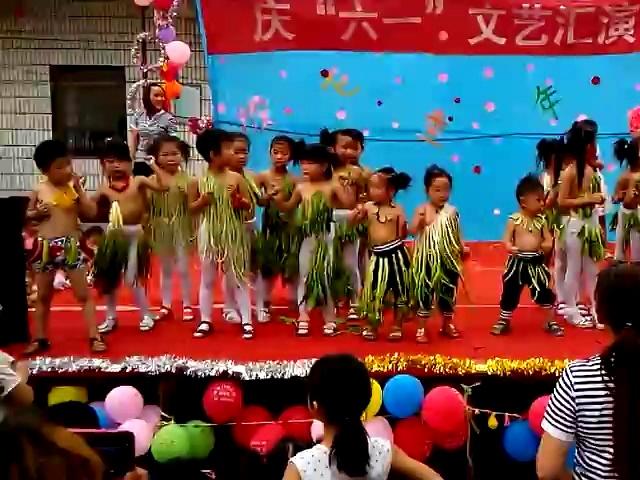 2014温寺门幼儿园庆六一舞蹈《蔬菜时装秀》视频