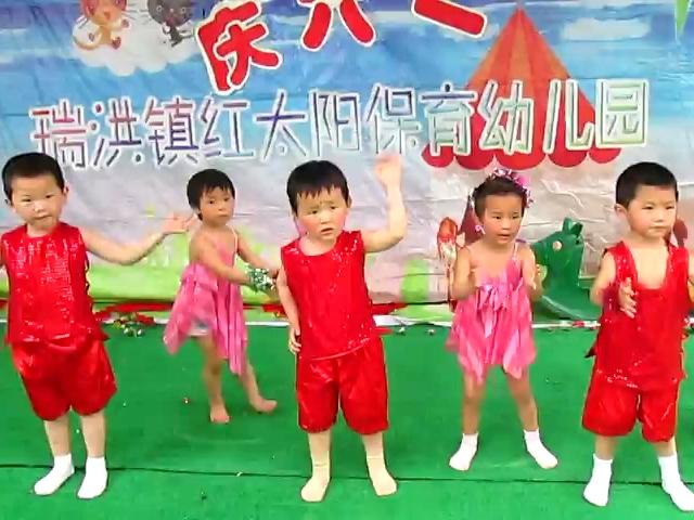 小班舞蹈班:我上幼儿园!