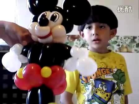魔术气球 米奇米老鼠制作预告