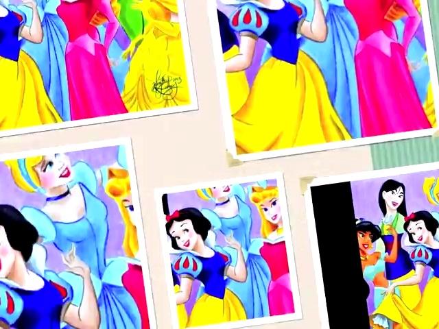 彩色铅笔画绘制迪士尼公主逼真(雅墨画室)