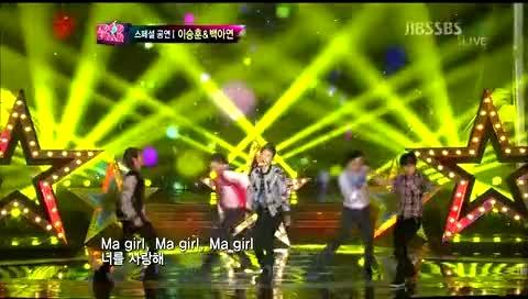 Ma Boy2 SBS Kpop Star现场版 12/04/15-模仿翻唱