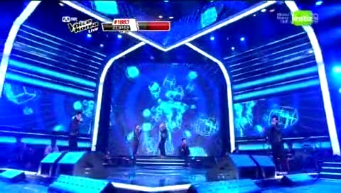 The Way U Are - The Voice Of Korea现场版 12/04/27-模仿翻唱