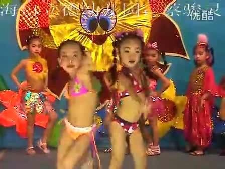 海口立德幼儿园:蔡骏灵《舞蹈》服装秀