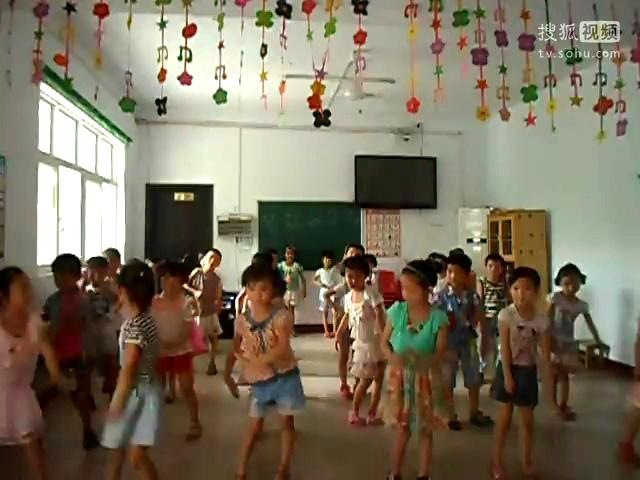 幼儿园教学小苹果舞蹈-360视频搜索