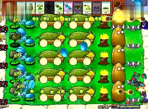 植物大战僵尸小游戏植物僵尸_在线高清游戏63393
