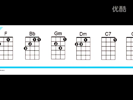 圣诞快乐ukulele谱子