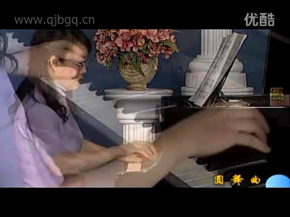 趣味钢琴曲 肖邦圆舞曲 中央院钢琴考级 5级图片