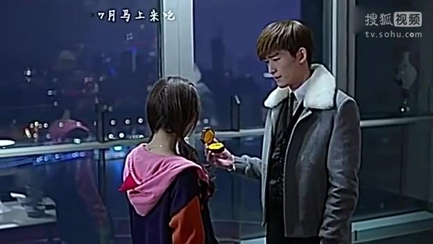 《杉杉来吃》《杉杉来了》张翰赵丽颖求婚接吻