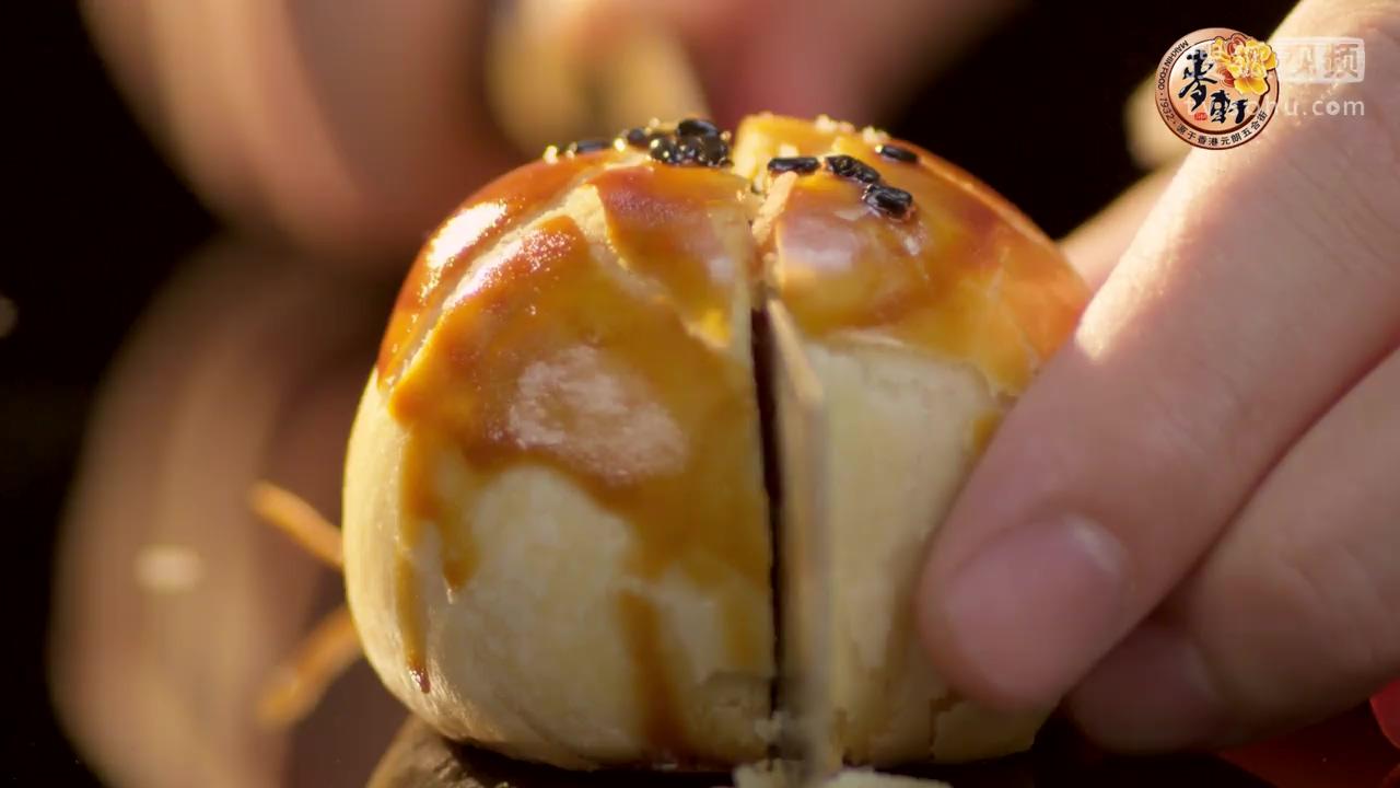 揭秘麦轩蛋黄酥制作过程