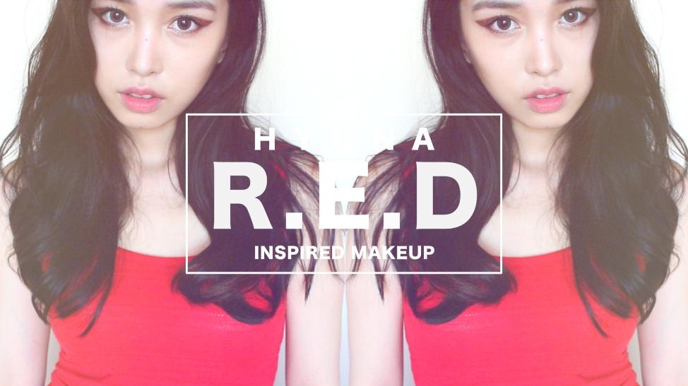 梁吉娜】Hyuna泫雅RED妩媚仿妆-时尚视频-搜狐视频