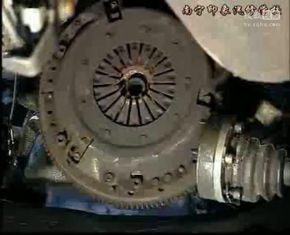 桑塔纳轿车故障诊断与检修之8离合器打滑速视频