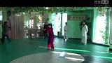 5李炳火弟子刘爱慧表演太极拳1 包头武术健身qq群 第一届群友聚会