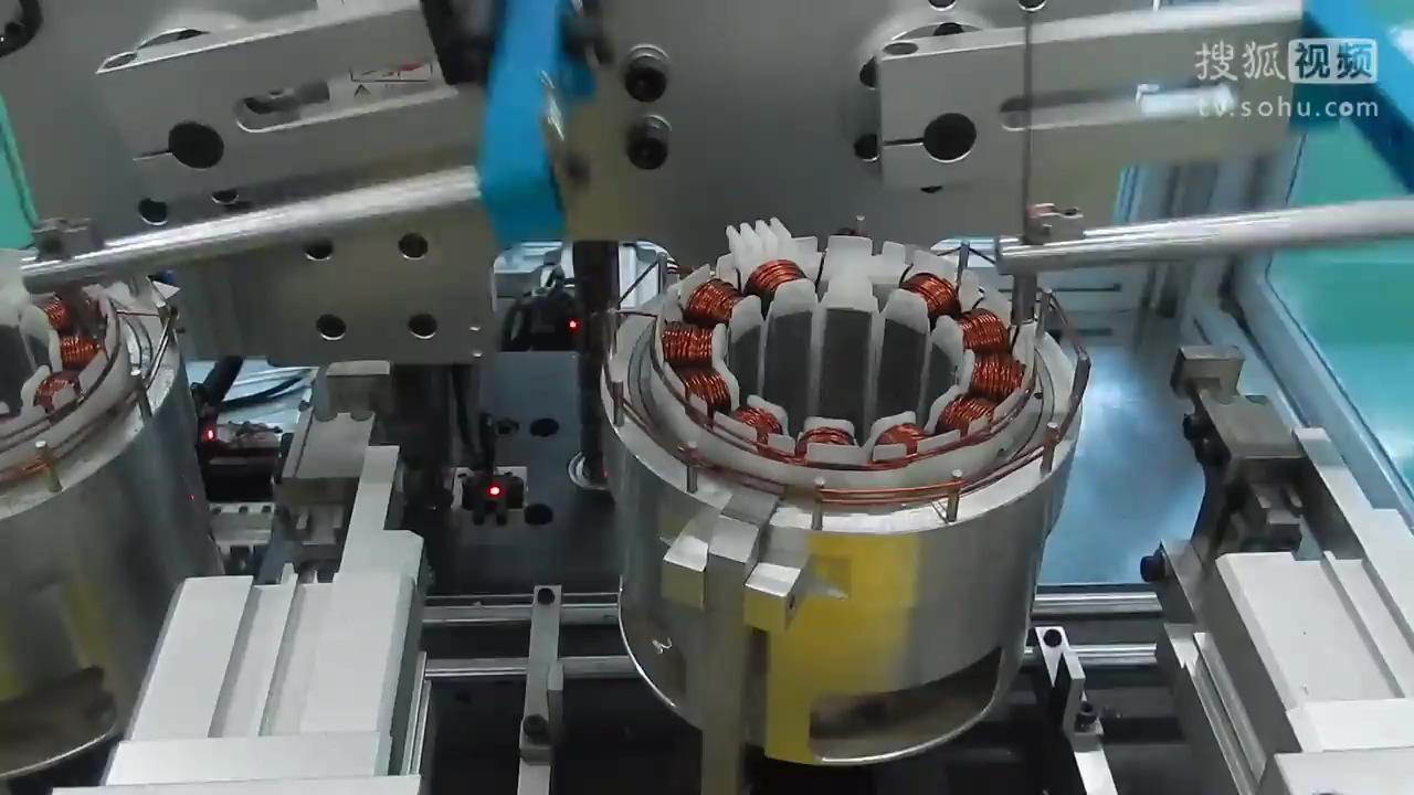 电机绕线机_环形绕线机原理图解