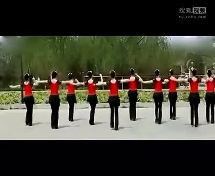 广场舞:火火的姑娘