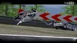 最新大型工程车卡车挖掘机工作视频BEAMNG模拟汽车卡车飞机碰撞车祸2016年合集