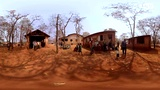 VR视频360度全景 真实的非洲的孩子们!