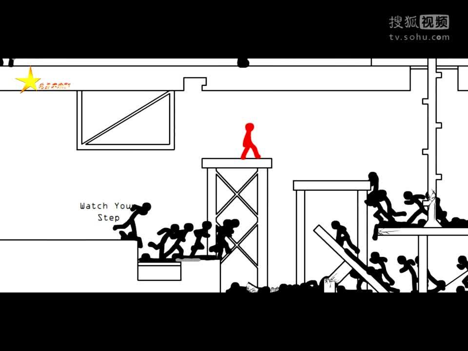 火柴人】功夫之王的复仇 踢馆 第1部-游戏视频 ...